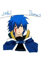 Jellal from fairy tail colored by SooCatArt