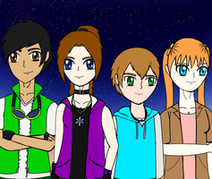 Team Starchasers by SpiritDreamWariors