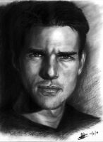 tom cruise sketch by rayjaurigue