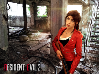 Claire Redfield resident evil 2 remake by LilituhCosplay