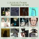 2011 Art Summary by BrittanyWillows
