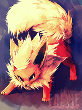 Flareon by falvie