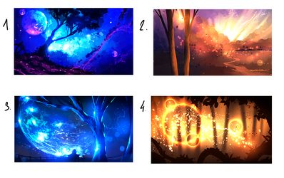 Magic Scenery for SALE (25 USD) 3/4 still avaiable by ryky