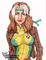 Rogue X-men by Pastranas-Art