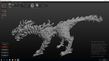 Forest drake WIP (update) by bombblaster89