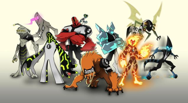 Ben 10 - Collage by mateusboga