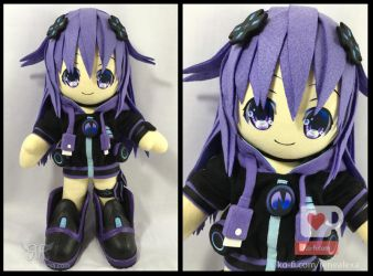 Neptunia - 40cm by renealexa-plushie