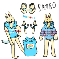 AUCTION: RAMBO (price lowered) by porkko
