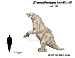 Eremotherium by Bran-Artworks