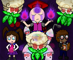 Master of Hypnosis (PvZ and TBoI Fan Art) by Gianluca850