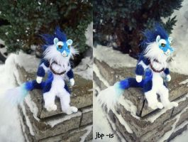 Blue tiger artdoll by RaviTheBlueTiger