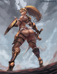 Endgame plate armor by cutesexyrobutts