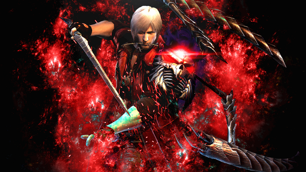 Dante: Devil May Cry 4 by DeviantArtDS