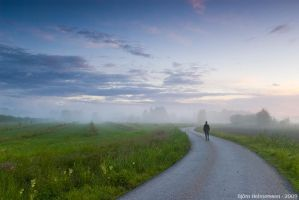 Walk in the Mist by Gilgond