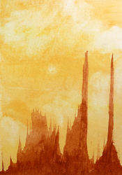 Red Clay Towers by selestial-princess