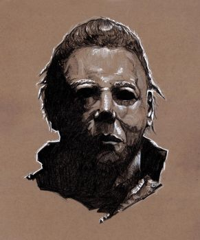 Michael Myers sketch by MarkButtonDesign