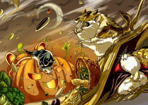Happy Halloween 2014 by Pawlove-Arts