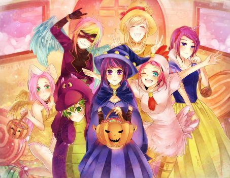 MLP: Halloween12 by RuminE