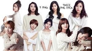 TWICE PNG Pack Season's Greetings 2017 by SS by soshistars