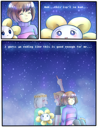 Undertale: STARS page 9(End) by ScruffyPoop