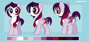 Cherry Rush Reference Sheet by Wicklesmack