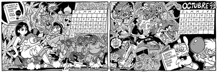 Calendario Literario 5 by POLO-JASSO