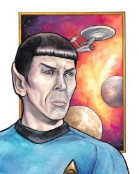 Spock by tlouey