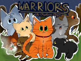 Warriors: The Prophecies Begin Poster by AutumnMeep