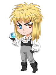 Jareth, the Chibi King by SpookyRuthy