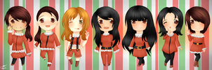 Merry Christmas 2012 by animeluv95