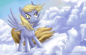 Derpy Hooves by alexmakovsky