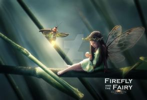Firefly and the Fairy by wasaps00