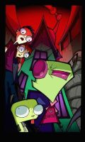 Zim Discovered by Invader-Johnny
