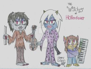 the Witches of Hollenfeuer by CelmationPrince