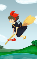 Kiki's Delivery Service by inesp22