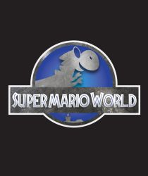 Jurassic Mario World by jrwcole