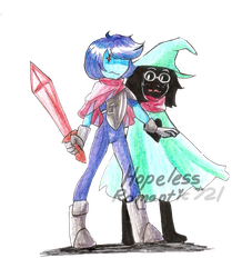 Deltarune: Protect the Prince by hopelessromantic721