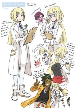 Pokemon Sun and Moon : Professor Lillie by DC9spot