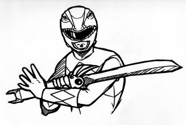 Red Ranger by Windam