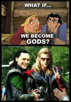Tulio and Miguel, Thor and Loki by AlkryEarth17