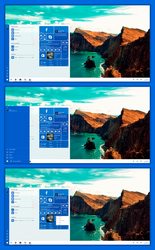 Windows 10 Emerald Start Menu by lukeled