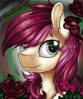 Roseluck [Speedpaint and T-Shirt available] by Ilynalta
