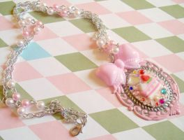 Cute As Cake Necklace by prheat