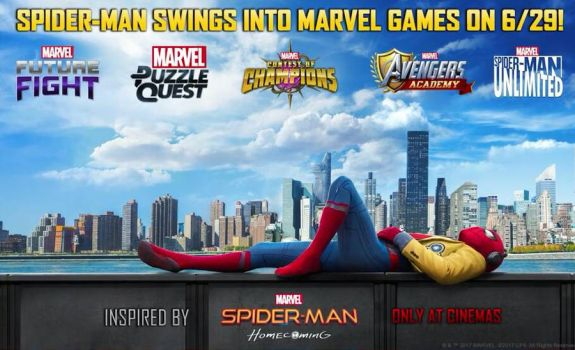 Spider-man Homecoming - The Games by LaxXter