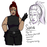 Discount Assassins League: Sonia by faerie-daze