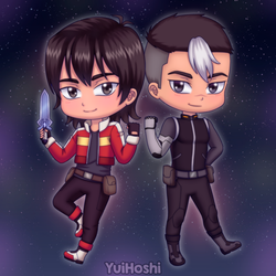 Shiro and Keith by YuiHoshi