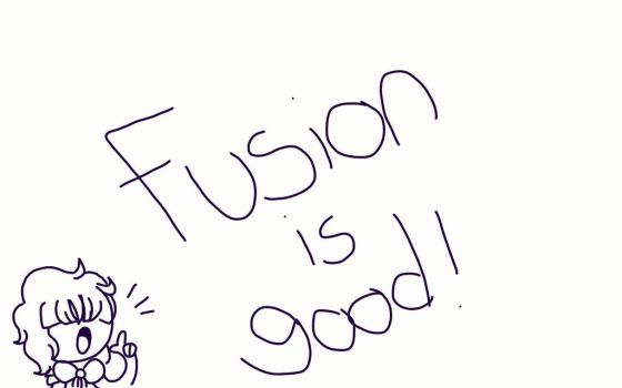 Fusion is good (info below) by LovexyHub