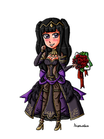 Tharja the obsessive bride by ninpeachlover