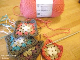 Granny squares by restlesswillow