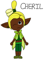 Youngest Fab Fairy Cheril (Miitopia) by SeriSnake